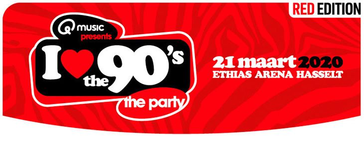DJ Furax, Alice DJ en Twenty 4 Seven komen naar 'I love the 90's'